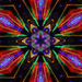 Christmas Lights Kaleidoscope by onewing