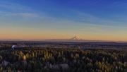 23rd Dec 2020 - Mt Rainer at Sunset