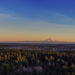 Mt Rainer at Sunset