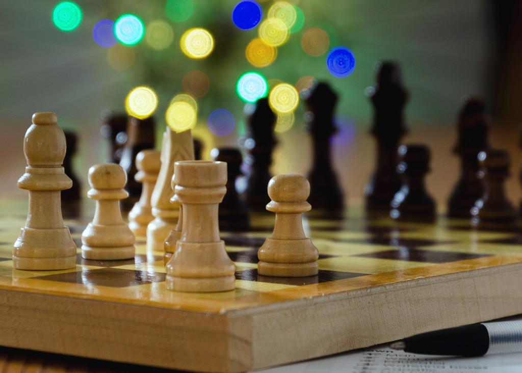 Playing Chess by salza