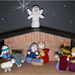 Knitted Nativity by pcoulson