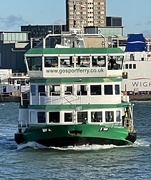 24th Dec 2020 - The spirit of Portsmouth, coming straight at me!