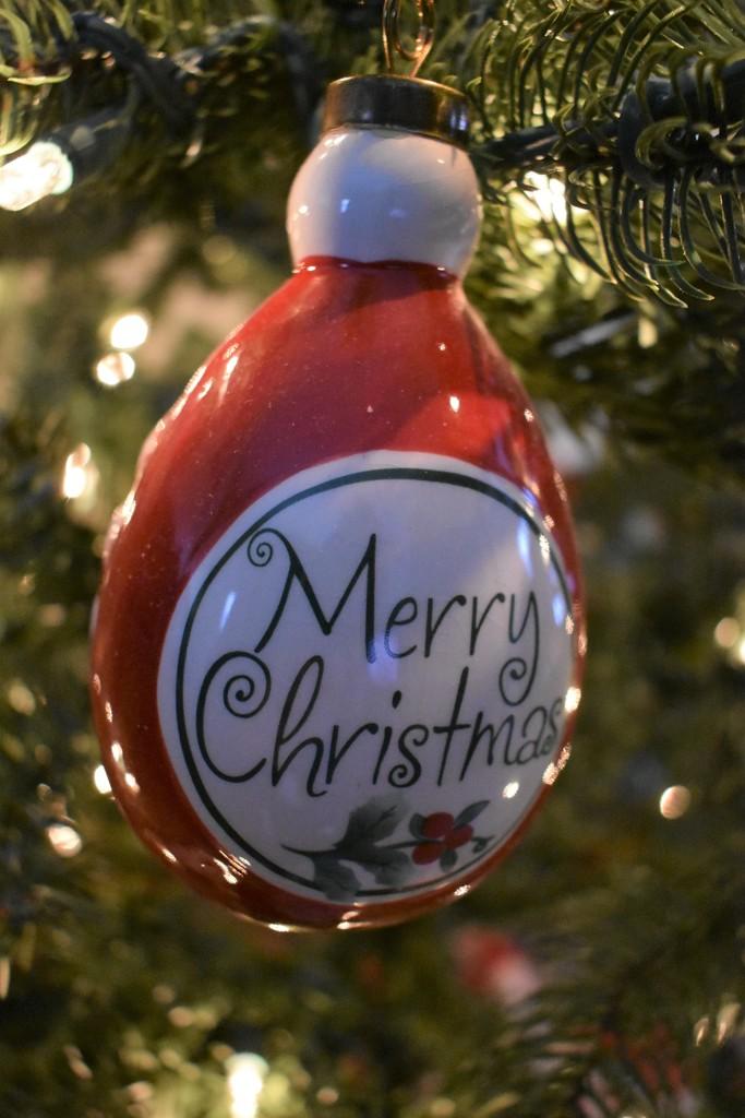 I Wish everyone who celebrates a Merry Christmas by brillomick
