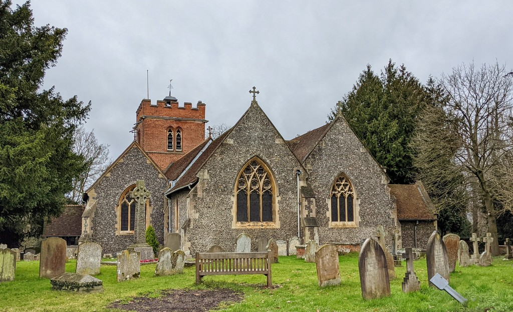 St. Nicholas, Hurst by stevehurst