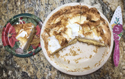 24th Dec 2020 - Pie Flat Lay
