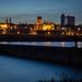 Warsaw in blue hour by haskar