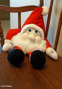 27th Dec 2020 - Santa who gards the front door