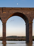 28th Dec 2020 - Moon over viaduct