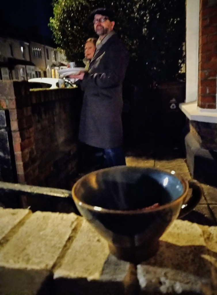 Mulled wine with neighbours by boxplayer