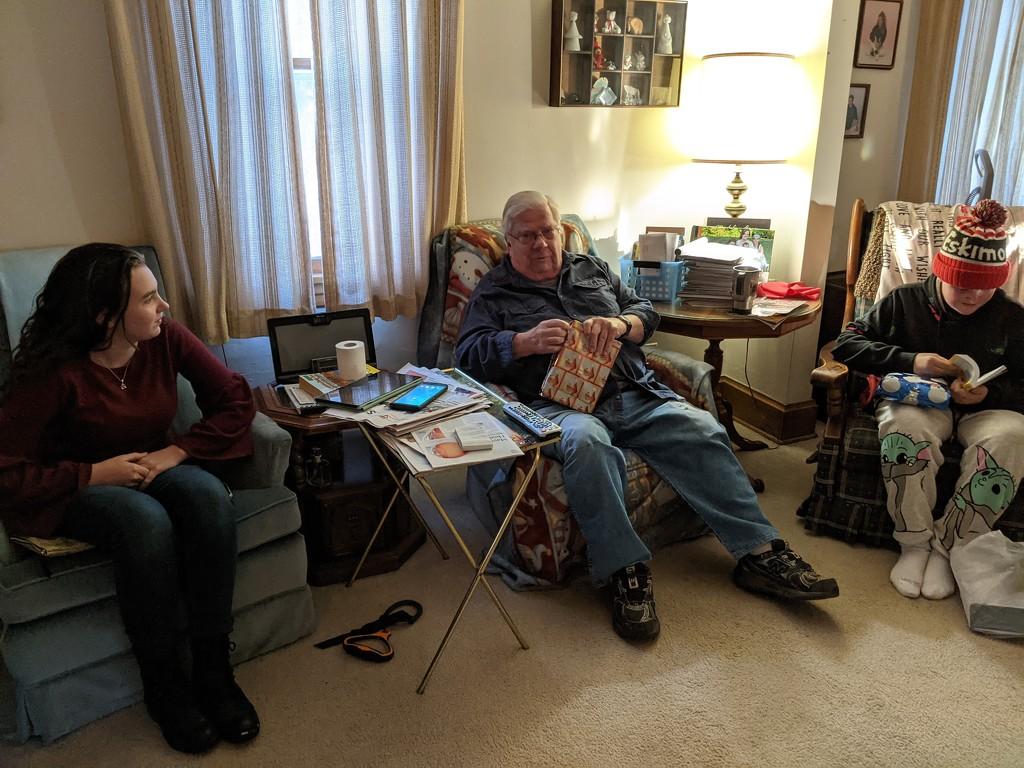 Christmas Eve with Dad by prairiesmoke