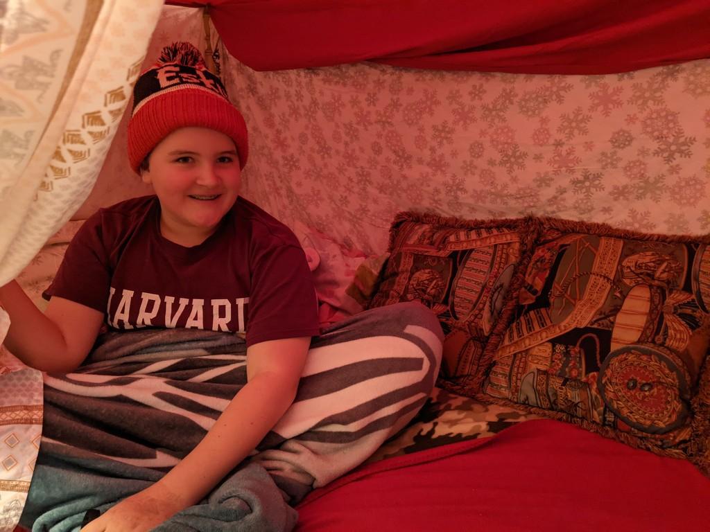 Blanket fort by prairiesmoke