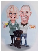 27th Dec 2020 - A wonderful gift from my youngest son and wife - love the caricature of Sadie!