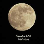 29th Dec 2020 - December 2020 Cold Moon