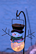 13th Dec 2020 - Snowman in the Evening