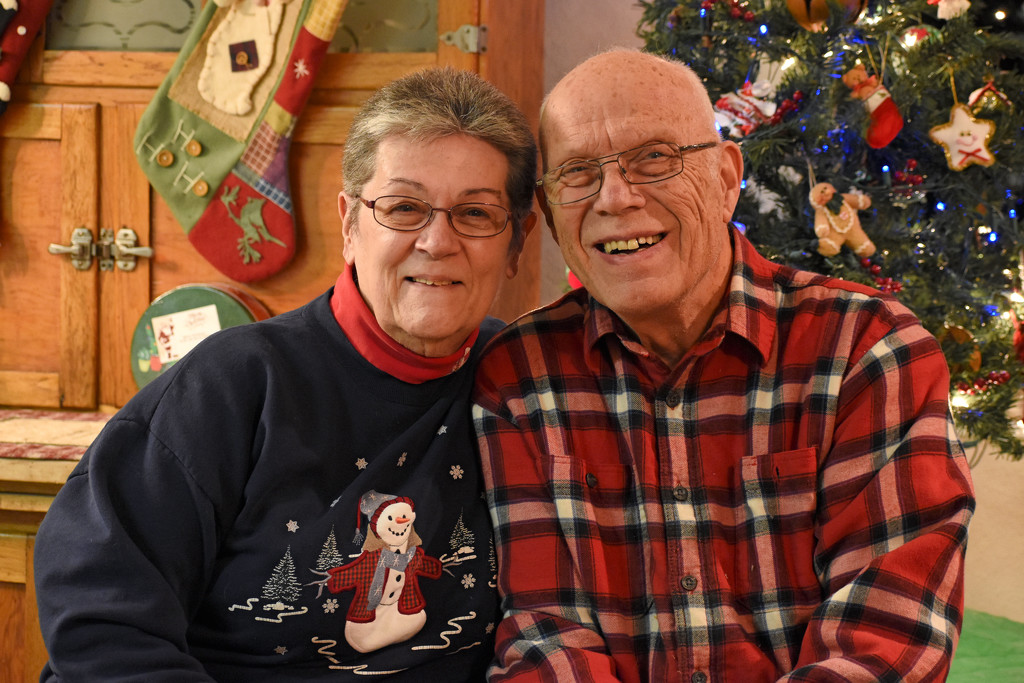 Barb and Ken's Pre-Christmas Photo  by bjywamer