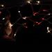 Santa Windchime and Christmas Lights