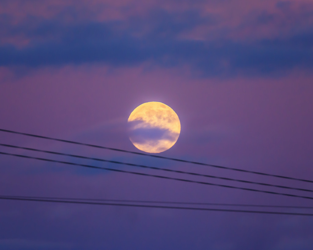 Cold Moon by aecasey