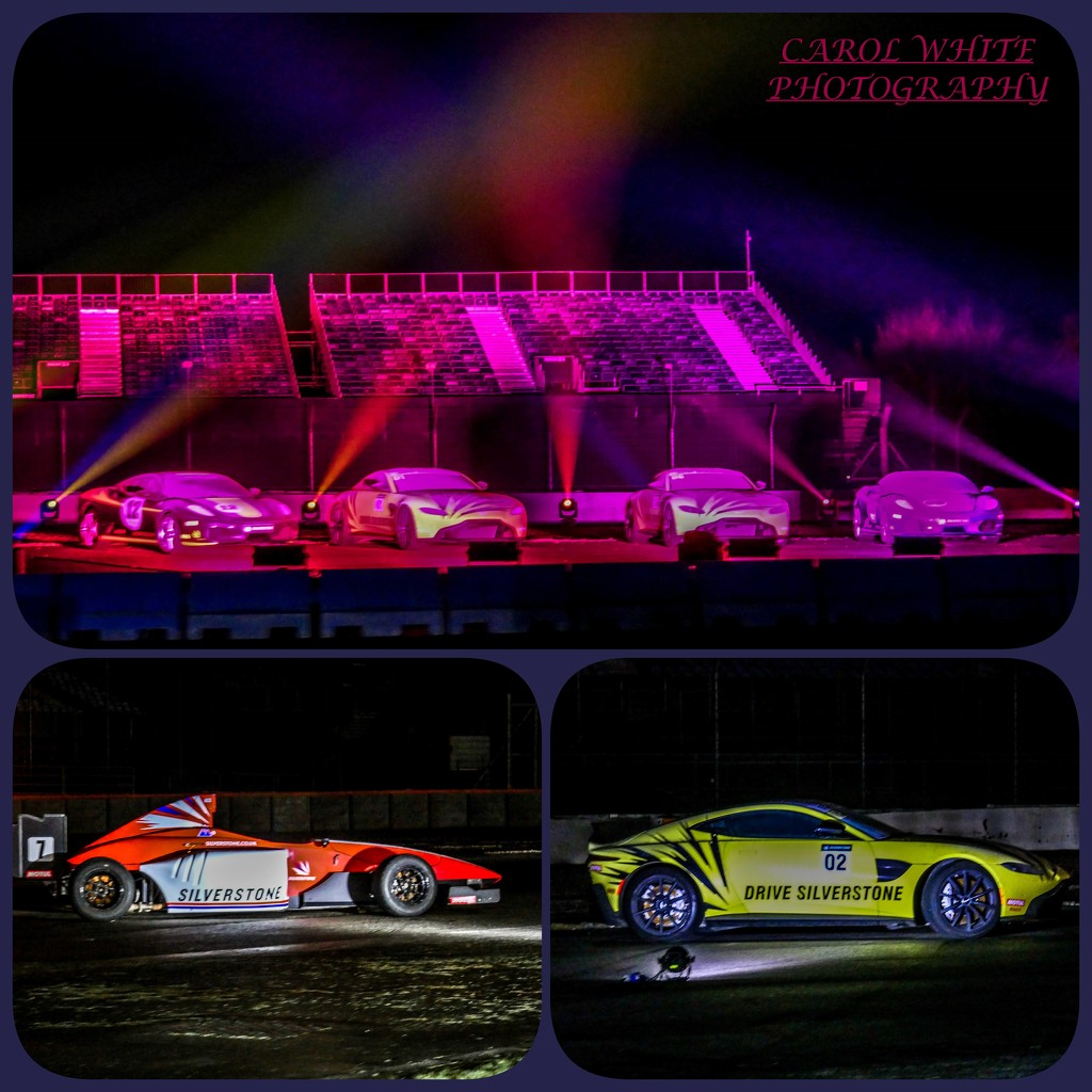 Silverstone Experience (Laser Display) 2 by carolmw