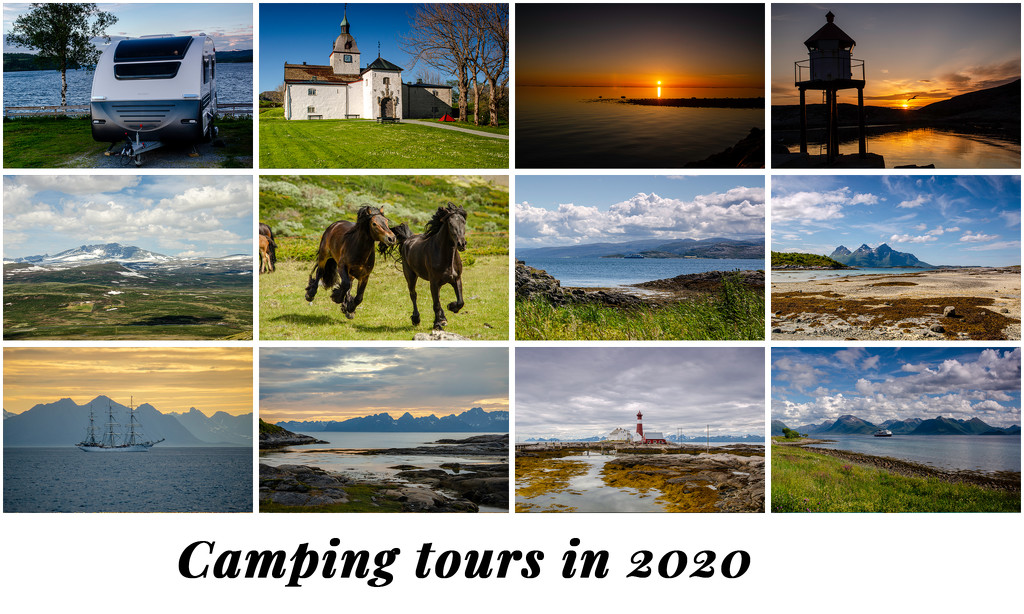 Camping tours in 2020 by elisasaeter