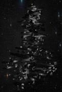 3rd Jan 2021 - Xmas tree in the sky
