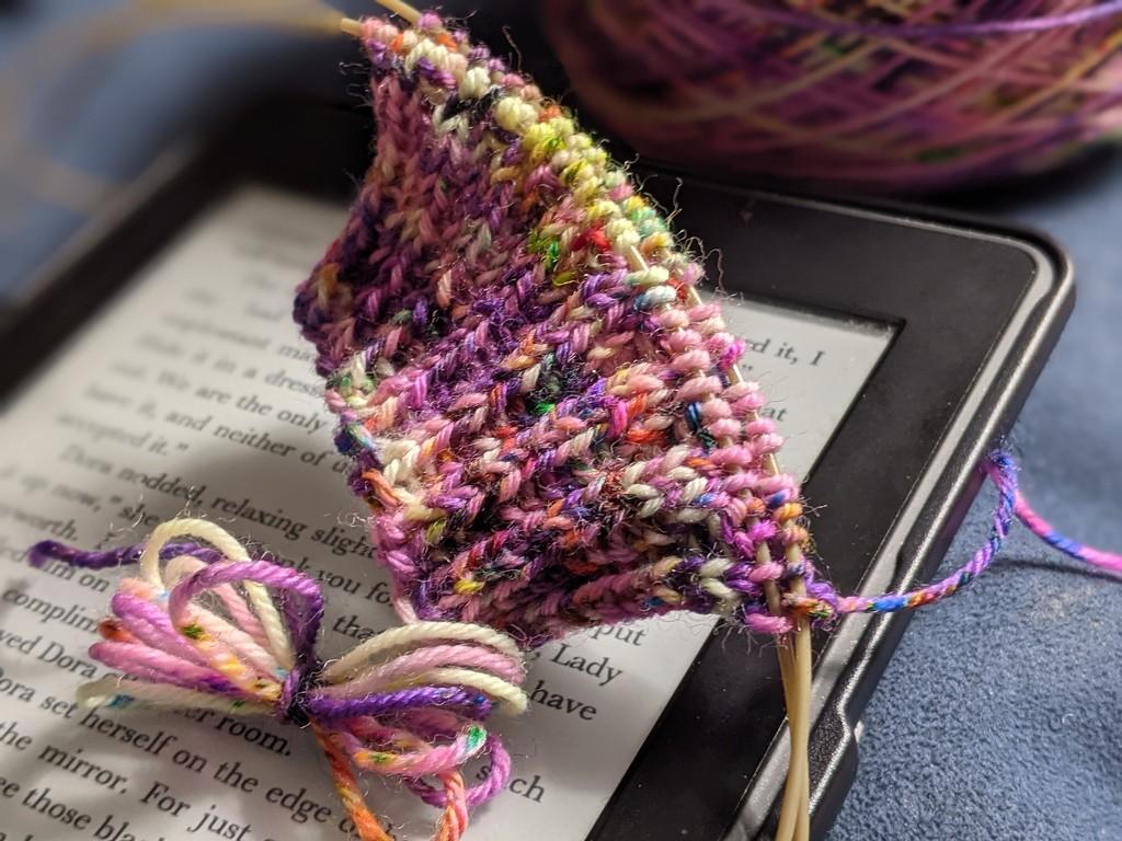 New book, new socks by sarahsthreads
