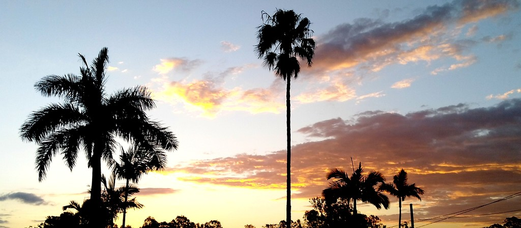 Sunset over Jindalee Brisbane by 777margo