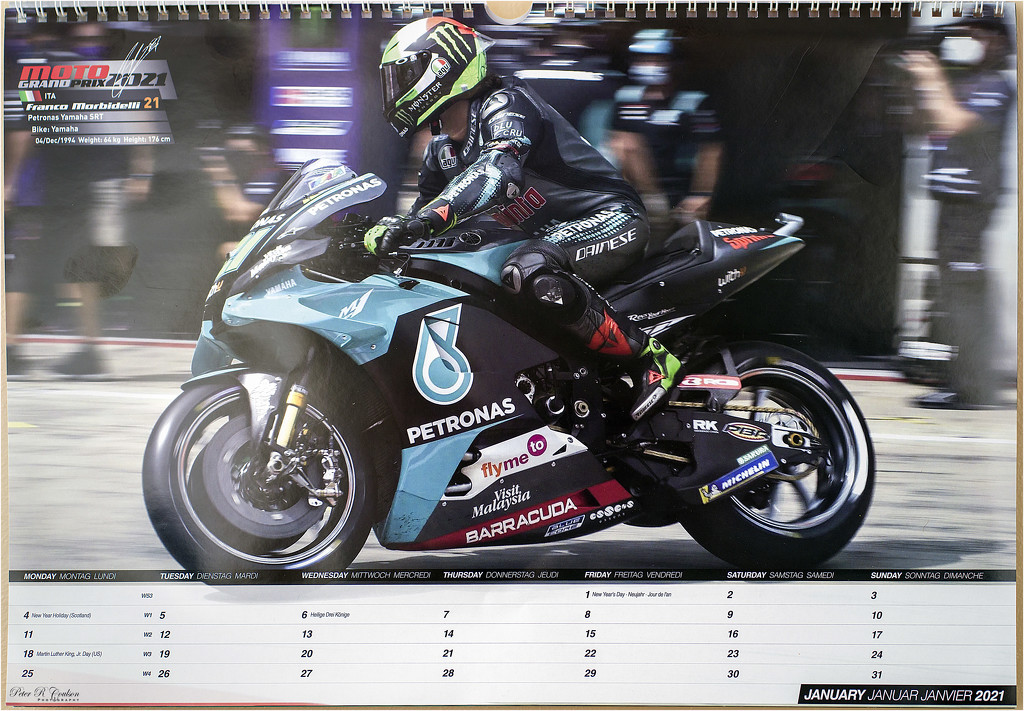 New Year - New Calendar by pcoulson