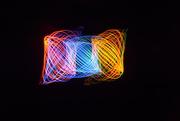 3rd Jan 2021 - Lightpainting squared............