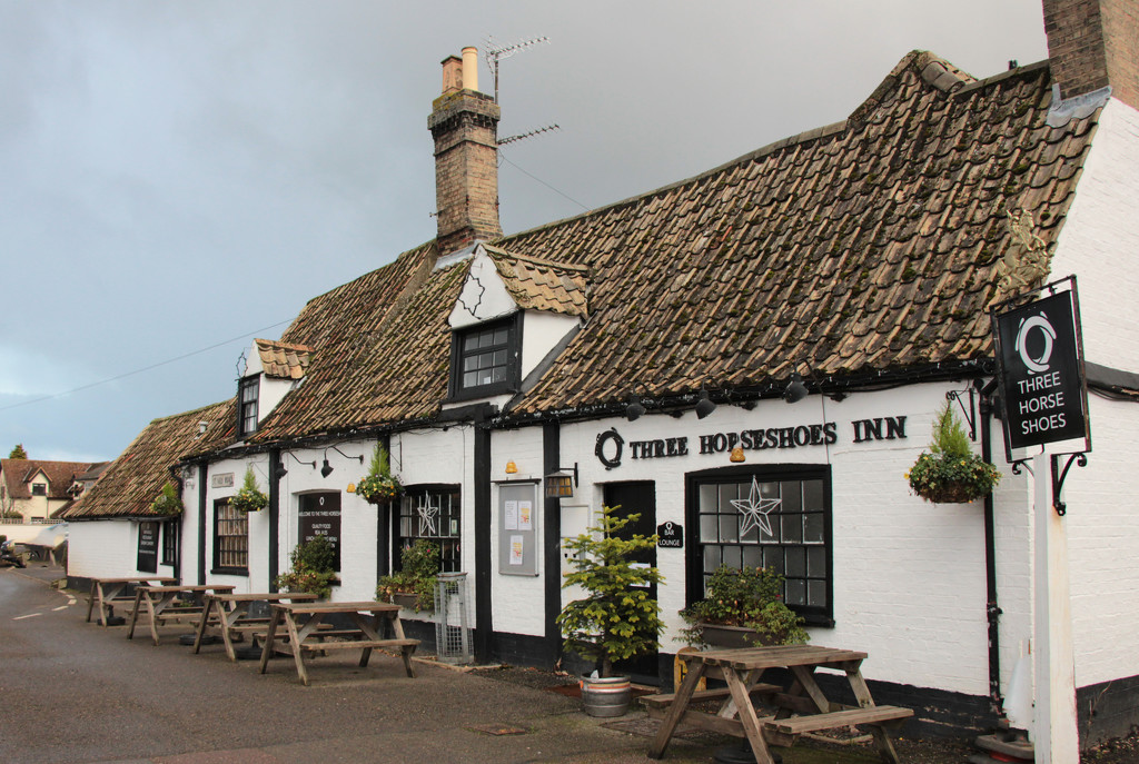 Three Horseshoes, Houghton by busylady