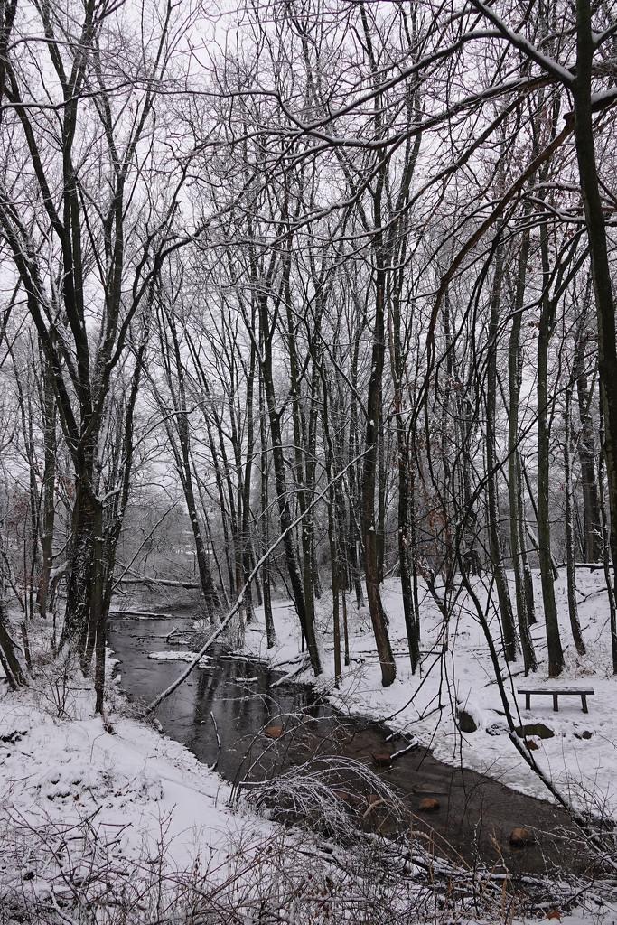Winter scene by annepann