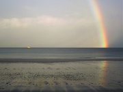 4th Jan 2021 - A rainbow from the sea