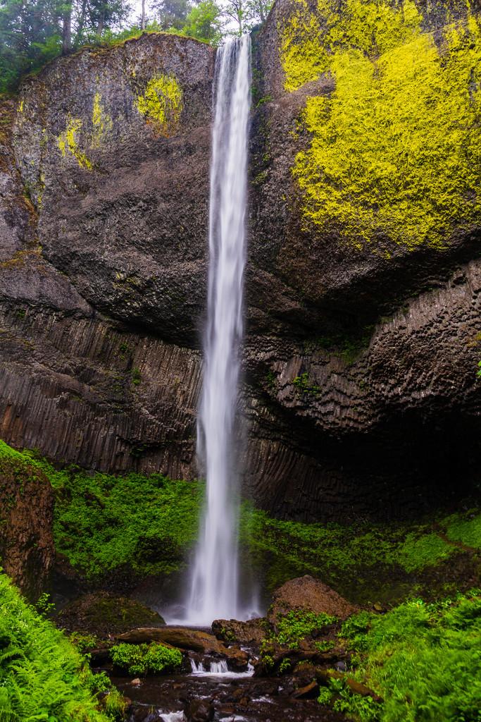 Columbia River Gorge Waterfall by photograndma