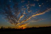 4th Jan 2021 - January sunset...