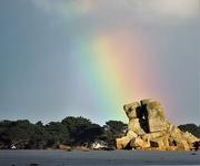 5th Jan 2021 - A rainbow on the rocks