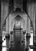 5th Jan 2021 - Under the Bridge B and W