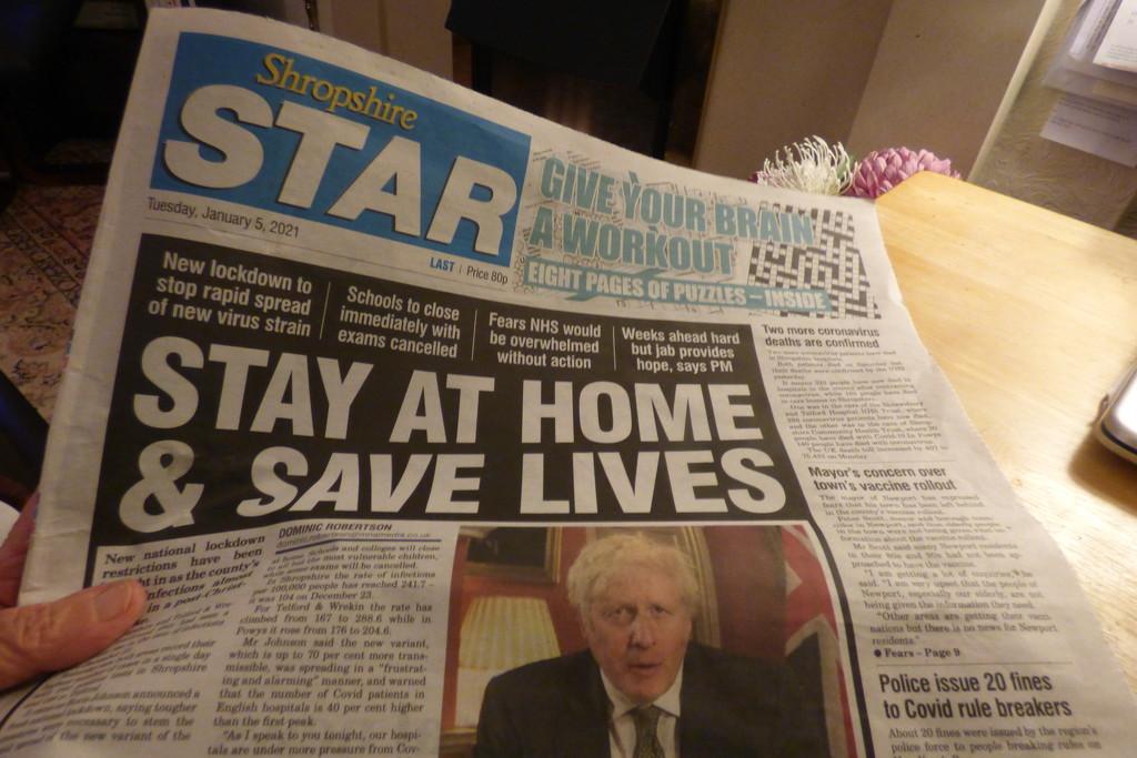 Newspaper . by beryl