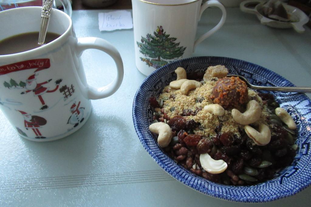 last Christmas breakfast by anniesue