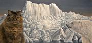 6th Jan 2021 - Gracie and Polar Bear painting