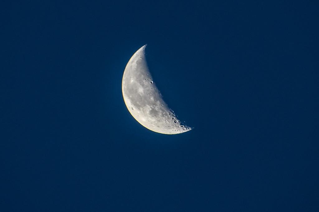 Waning moon by danette