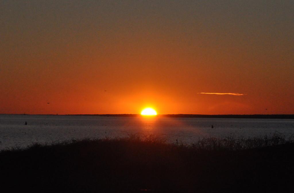 Tonight's sunset.......... by sailingmusic