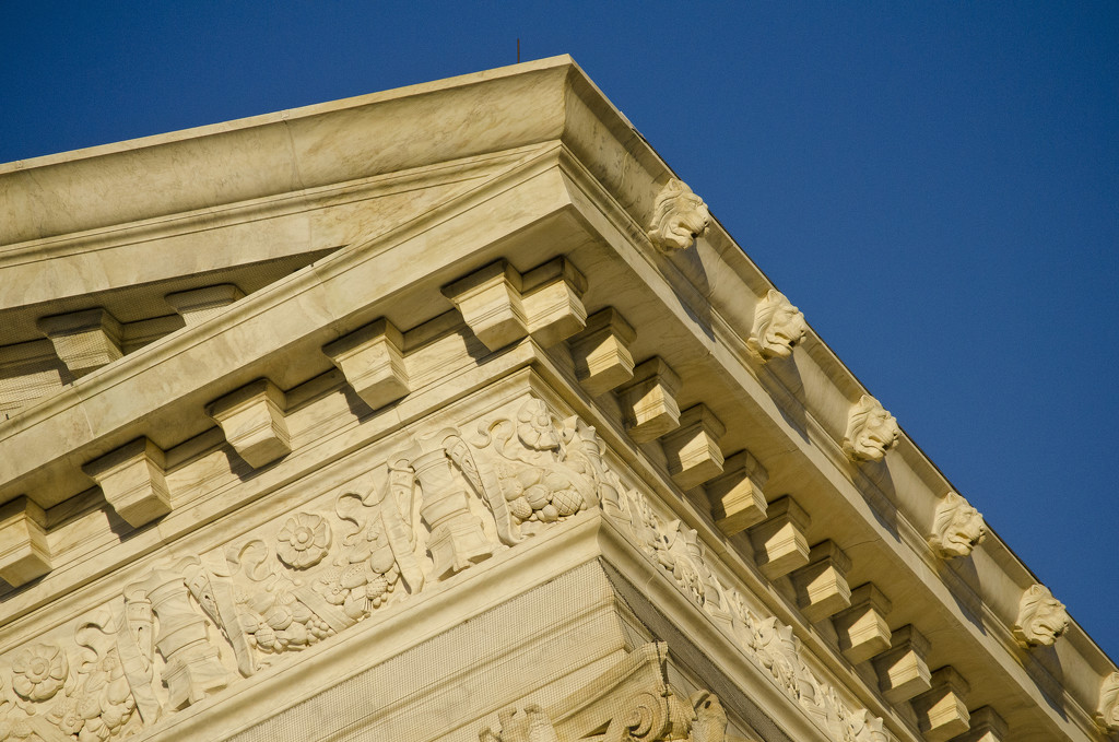 Supreme Court cornice by ggshearron