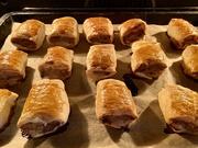 8th Jan 2021 - Homemade sausage rolls