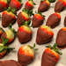 Strawberries and chocolate.