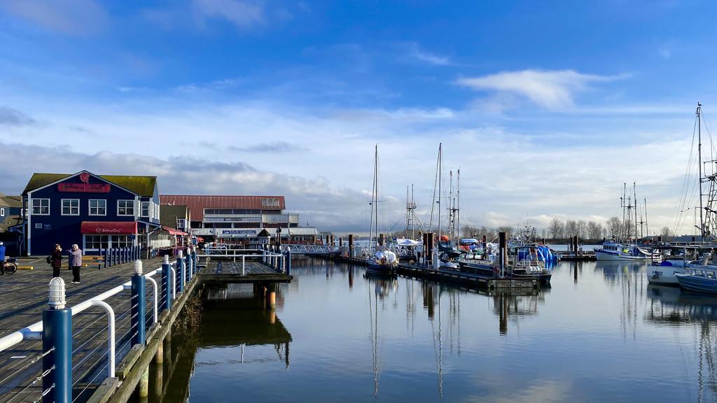 Steveston Waterfront  by cdcook48