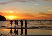 10th Jan 2021 - Reflective sunset