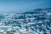 10th Jan 2021 - Trondheim in the snow