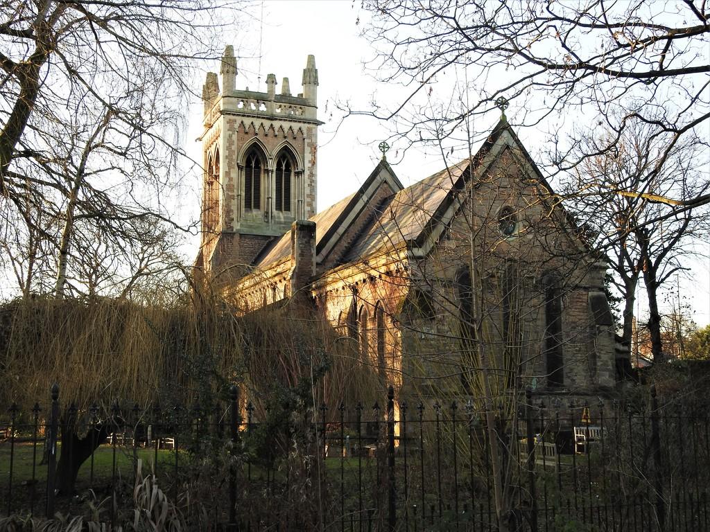 St Leodegarious Church Basford by oldjosh