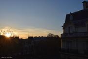 10th Jan 2021 - sunset over Paris