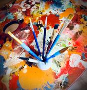 8th Jan 2021 - New Paintbrush Holder
