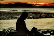 9th Jan 2021 - Thank you so much for your kind comments and faves on my sunset shots. Last one here - hubby and Sadie 💞